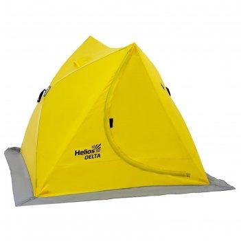 Палатка зимняя двускатная delta, цвет yellow helios (hs-isd-y)