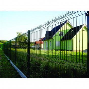 Ограждение панельное, 250 x 103 см, ячейка 200 x 55 мм, прут d = 4 мм, зел