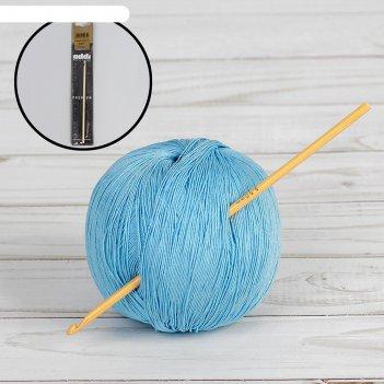 Крючок для вязания, бамбук, №3,5, 15см