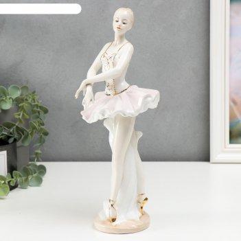 Сувенир керамика прима балерина 30х12х11 см