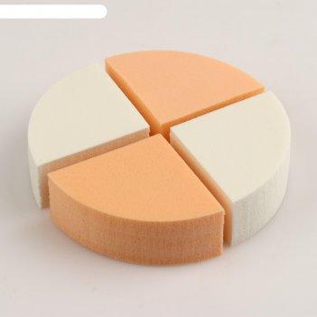 Спонж для нанесения тональных кремов tf accuracy sponge ctt31