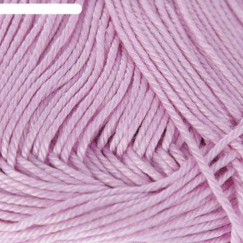 Нитки вязальные лотос 250м/100гр  100% мерсеризованный хлопок цвет 1702