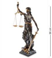 Ws-653 статуэтка фемида - богиня правосудия