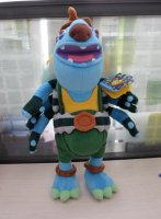 Т56999, мягкая игрушка громозека алиса знает, что делать!, 40 см