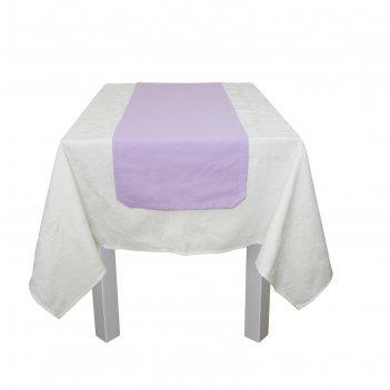 Дорожка на стол «лаванда» размер 40 x 140 см, сиреневый