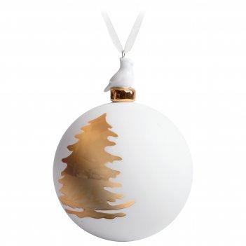 Елочный шар с фигуркой «елочка», 10 см