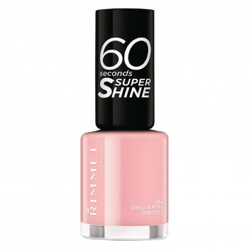 Лак для ногтей rimmel 60 seconds super shine #262 - ring a ring o roses 8