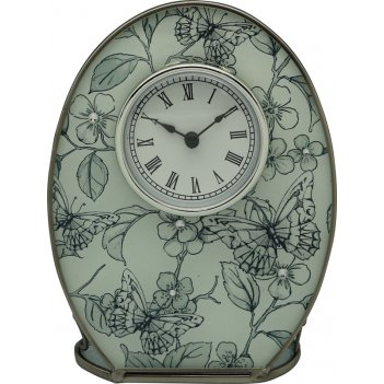Часы jardin dete эскиз, cталь, стекло, 12,1 х 16,3 х 5 см, бел