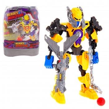 Конструктор-робот герой master