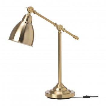 Настольная лампа барометр 1x40вт е14 медь 18x48см