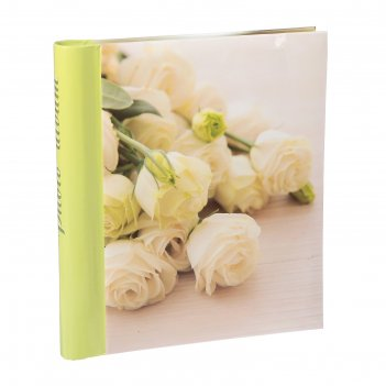 Фотоальбом магнитный 30 листов pioneer delicate flowers 23х28 см