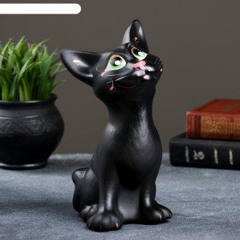 Копилка кот оскар чёрный