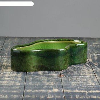 Кашпо озеро зелёное