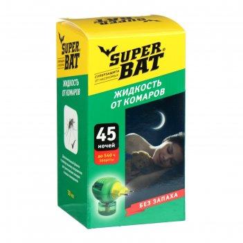 Жидкость от комаров superbat ,  доп. флакон , 45 ночей, 30 мл.