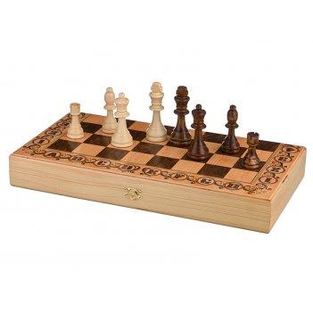 Шахматы дебют 40*20*5 см.