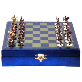 Rts-92 мини-шахматы бородинское сражение (покрашенные) 22х22см