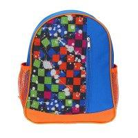Рюкзак малый, 1 отдел, 1 наружный карман, 2 боковых кармана, цвет синий