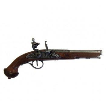 1300 пистолет системы флинтлок, 19 век, 36,5см