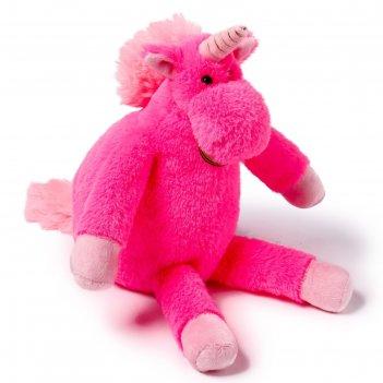 Мягкая игрушка единорог, 28 см, длинноногий, цвет цикламеновый at365292