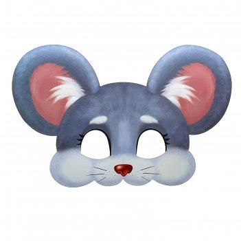 Маска карнавальная мышка