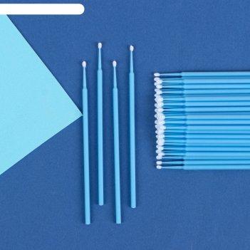 Мини-брашинг для наращивания ресниц, d=0,44*0,2см, цвет розовый