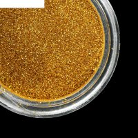 Втирка для ногтей зеркальный блеск, мелкая, цвет жёлтое золото