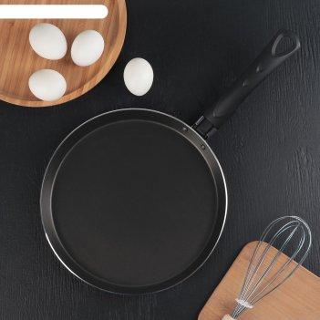 Сковорода блинная 25 см шёлк