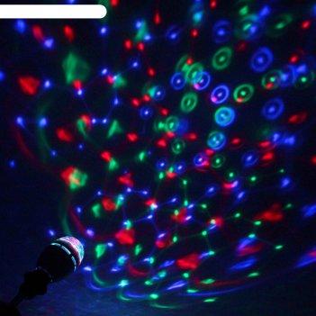 Лампа хрустальный шар диаметр 8 см. эффект зеркального шара 17 х 8 х 8 v22