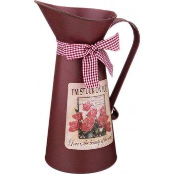 Кашпо-кувшин valentine 27,5*11,5 см. (мал=6шт./кор=24 шт.)