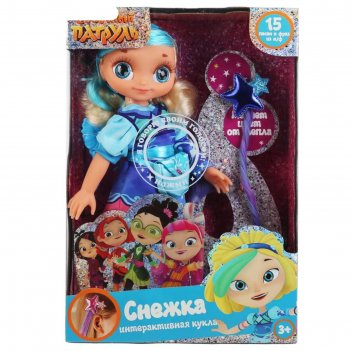 Кукла озвученная снежка кэжуал, 32 см, волосы меняют цвет st20-32-s-ch-ru