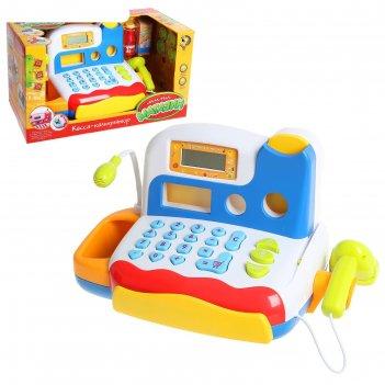Касса-калькулятор «любимые покупки-2», световые и звуковые эффекты, работа