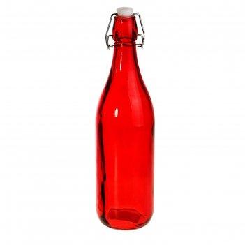 Бутылка для масла 1,2 л галерея 9х32 см, цвет микс