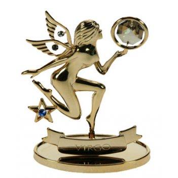 Фигурка декоративная - знак зодиака дева 3*6*9см