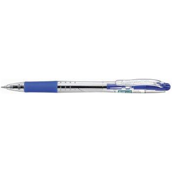 Шариковая ручка hauser grip-well, пластик, цвет синий