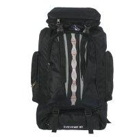 Рюкзак тур. эверест, 37*15*50см, 1 отд на молнии, 4 н/ кармана, черный
