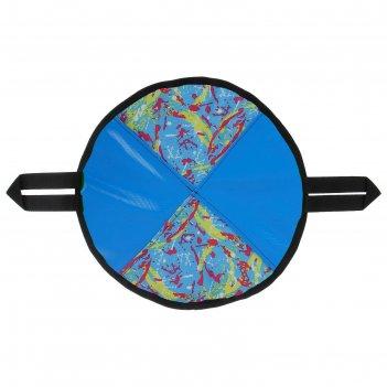 Ледянка круглая мягкая, цвета микс