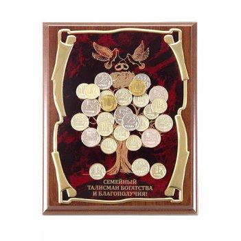Панно денежное дерево(голуби) семейный талисман...