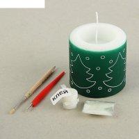 Набор для творчества свеча резная, фонарик №2