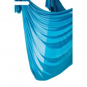 Полотно для йоги fly-antigravity голубой