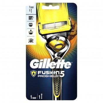 Станок бритвенный gillette fusion proglide с 1 сменной кассетой