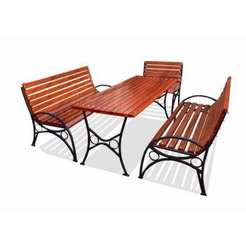 Комплект садовой мебели «бульвар» 3,0 м