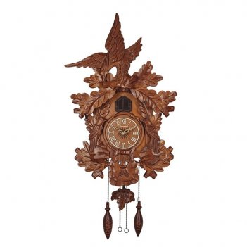 Настенные часы с кукушкой columbus орел cq-006