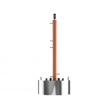 Самогонный аппарат cuprumsteel rocket35 15 л для хобби и пикника