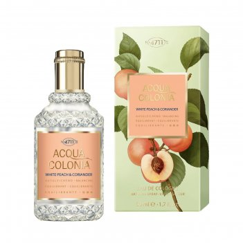 Одеколон 4711 acqua colonia balancing white peach & coriander, 50 мл