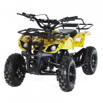 Квадроцикл детский бензиновый motax atv х-16 мини-гризли, осенний камуфляж