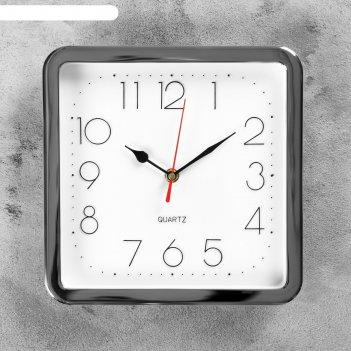 Часы настенные, серия: классика, кинзия, 23.5х23.5 см