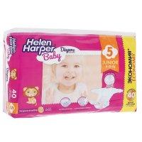 Helen harper подгузники детские baby junior 11-25кг 40шт