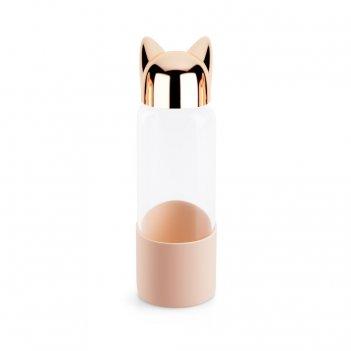 Бутылка для воды cat 0.35л золотая