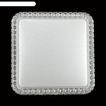 Светильник 72w led 3200к-6200к пду белый 55x55x7,7см