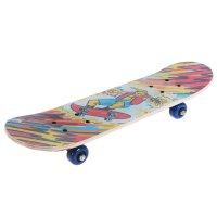 Скейтборд нв-059, размер 62x16 см, колеса pvc d= 50 мм